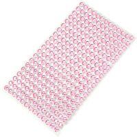 Acryl Strasssteine 750 Steine/Set 3mm Aufkleber Schmucksteine Edelsteine rosa