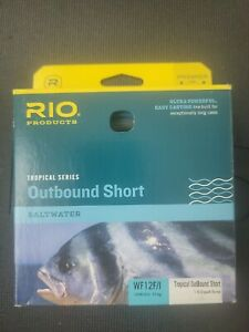 RIO TROPICAL OUTBOUND SHORT WF12F/I #12 WT FWD 30FT CLEAR TIP SALTWATER FLY LINE