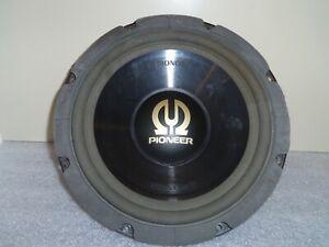 PIONEER TS-W301 400 Watt FREE AIR SERIES IMPP Vintage 4 Ohm sehr guter Zustand