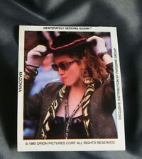 MADONNA DESPERATELY SEEKING SUSAN STICKER  1985 #2 OFFICIAL ORION PICTURES