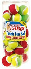 Classic Pet Products Mini Tennis Fun Ball Dog Toy Green/Yellow For small Dogs