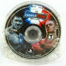 WWE SmackDown vs. Raw 2006 Sony PlayStation Portable 2005 PSP Disc Only
