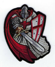 CRUSADER ST GEORGE HAT VEST PATCH MORALE US ARMY MARINES NAVY AIR FORCE SHIELD