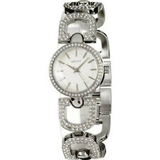 DKNY Crystal Accents White Dial Women's Watch NY4943