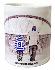 Queens Park Rangers QPR Mug shirt Fathers Day Xmas New Gift PERSONALISED