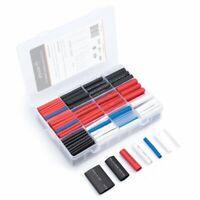 Wirefy 275 PCS Heat Shrink Tubing Kit - 3:1 Dual Wall Tube w Adhesive - 5 Colors