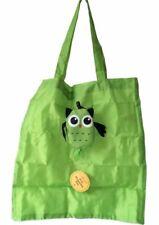 Sass & Belle Foldable Owl Shopping Bag Tote Folding Green Eco Carrier Bag Bird