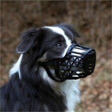 Muselière Chien En Plastique Trixie, Moyen, Noir - Plastic Dog Muzzle Trixie