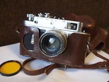 Rangefinder camera ZORKI 4 JUPITER-8 50mm f/2 Lens KMZ