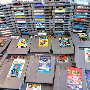 Nintendo Nes Original Games Pal, Mario, Simpsons, MegaMan, Star Wars, Contra