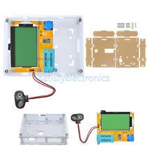 New Lcr T4 Atmega328 Digital Transistor Tester 12864 Lcd Capacity Esr Metercase
