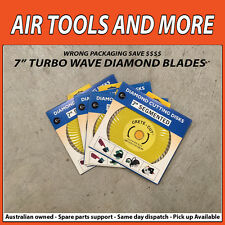 "7"" TURBO WAVE DIAMOND BLADES CRETE-CUT"