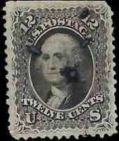 VEGAS - 1861-62 USA Sc# 69 - Mint, No Gum - Several Holes - See Scans - EQ6