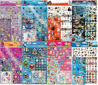 Children's Character Mega Stickers over 130 stickers Party Bag Loot bag fillers