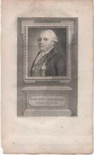 GRAVURE -Ridder van Kinsbergen, (1735-1819) Eau Forte de  van Rein
