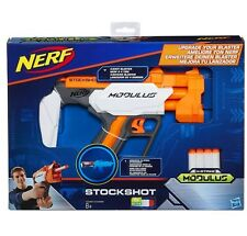 Nerf N-strike módulo Blaster actualización Accesorio-stockshot con 4 Dardos Elite
