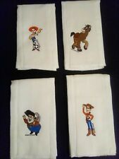 Burp Cloths, Lot. Of 4, Toy Story Theme
