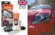Visbella Headlight Headlamp Cleaning Restoration Polish Light Lens Restorer Kit