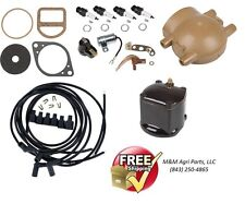 Complete Ignition Tune up kit Ford 9N 2N 8N Tractors 6V Front Mount Distributor