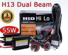 55W HID H13 8000K Ice Blue Bi-Xenon Hi Lo Dual Beam HeadLight Replacement Kit