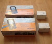 Lot 2X Datalogic jet  CE 5.0 wifi  ,  with radio summit BG GSM  HC batteries