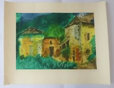 "JOHN PIPER 1903-1992 Aquatint ETCHING ed 11/70 ""Les Junies"" 1978"