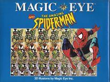 AMAZING SPIDER-MAN  1996 H/C -3D ILLUSIONS BY MAGIC EYE/ MARVEL COMICS ...VF/NM