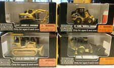 Norscot  Mini CAT Construction Vehicles x 4 New Boxed
