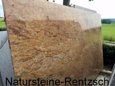 Madura Gold als Abdeckung Tischplatte Terrassentisch Gartentisch Esstisch Granit