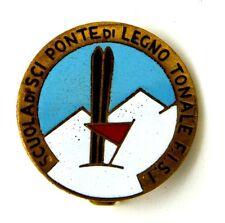 Spilla Scuola Di Sci Ponte Di Legno Tonale F.I.S.I. cm 2,6