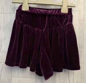 Girls Age 4 (3-4 Years) Next Shorts That Look Like A Skirt , Velvet Dark Purple