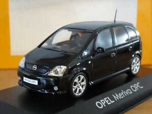MINICHAMPS OPEL MERIVA OPC (VAUXHALL VXR) BLACK CAR MODEL 90399891 1:43