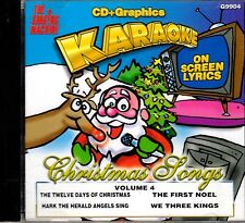 The Singing Machine FAVORITE CHRISTMAS SONGS V. 4 KARAOKE HOLIDAY PARTY SONGS CD