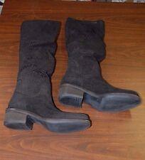 Vic Womens 9350 Flat Boot, Black, 39.5 M EU/9.5 M US