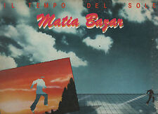 MATIA BAZAR disco LP 33 giri IL TEMPO DEL SOLE 1980 made in ITALY gatefold