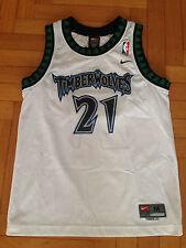 Canotta Jersey Nba Garnett Minnesota Nike 10 12 Youth Jordan Basket VTG KG XS