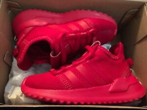 New adidas U_Path Run Toddler Boys Sneakers Shoes Sz 7 red