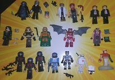 GI Joe custom Minimate lot: Cobra Commander, Destro, Baroness, Zartan, & more
