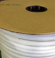 20 yards 1/2 Medium Welt Cord  RTEX White polypropylene  Upholstery Cornices