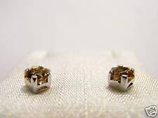 orecchini argento citrino princess 4 Swarovski stones