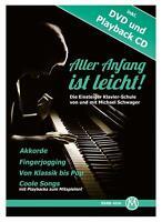 Aller Anfang Ist leicht Klavier Schule E-Piano Noten Heft Noten Buch mit DVD CD