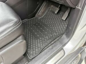 Rugged Rubber Floor Mats Tailored for Holden Captiva 5 & 7 2007-20 Odouless