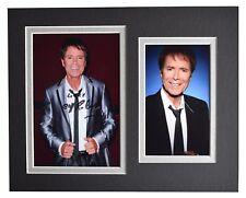 Cliff Richard Signed Autograph 10x8 photo display Music Memorabilia AFTAL COA
