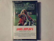 JANIS JOPLIN 'S greatest hits mc cassette k7 HOLLAND NUOVA UNPLAYED!!!