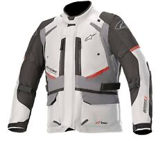 Giacca uomo da moto Alpinestars Andes v3 drystar jacket grigio