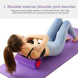 Yoga Column Foam Rollers Muscle Relaxer Massage Roller Fitness Pilates C1V5