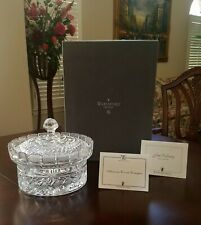 WATERFORD CRYSTAL ~ MILLENNIUM COVERED CENTERPIECE ~ NIB ~ SIGNED JIM O'LEARY