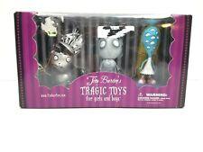 Tim Burton's Tragic Toys ~ Robot Boy, Stain Boy, The Girl With Many Eyes