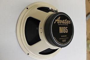 New Avatar M65 Guitar amp cabinet speaker   Made in England by Fane 8  ohm