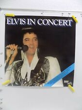 1977 22 X 22 Elvis In Concert Rca Advertising Poster - Not The Record